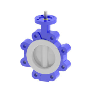 Lined Lug butterfly valve