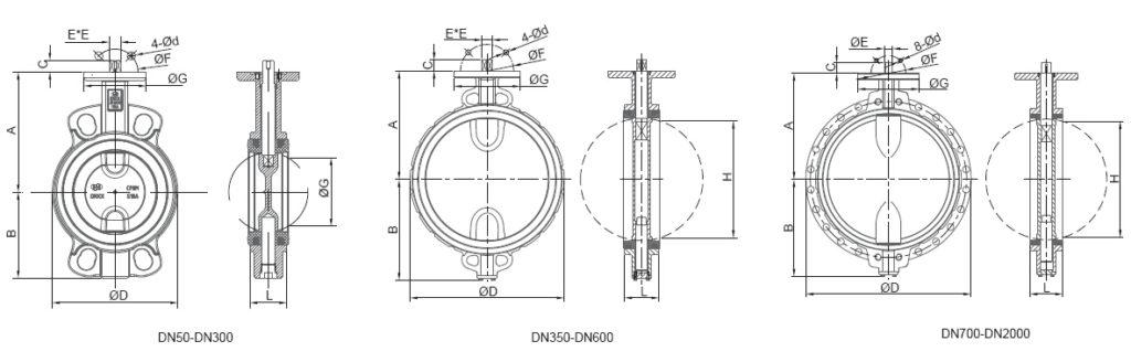 butterfly valve jis standard 10k